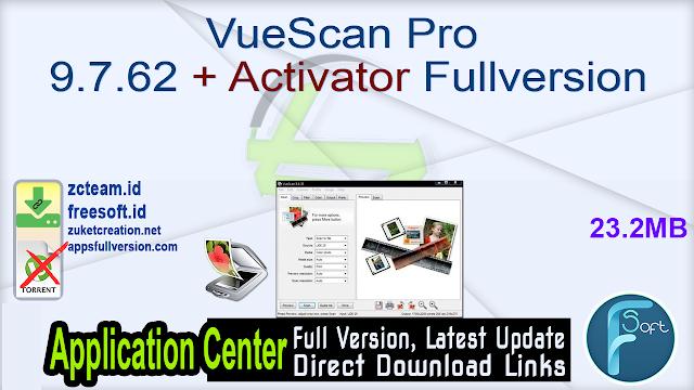 VueScan Pro 9.7.62 + Activator Fullversion