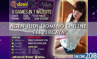 Agen Judi Domino Online Terpercaya