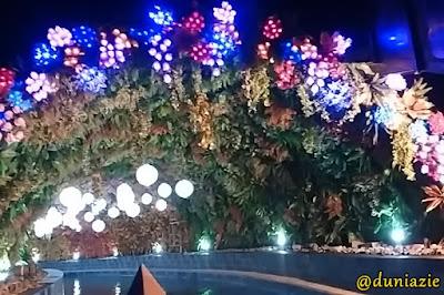 Menikmati 3 Wahana Baru Malang Night Paradise bersama Keluarga Asix