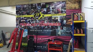 Banner Iklan Bengkel Testimonial JTX