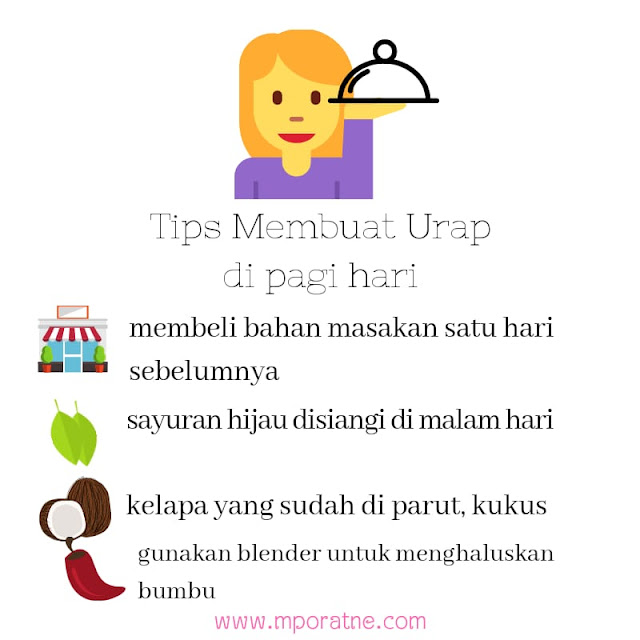 Tips membuat urap sayur