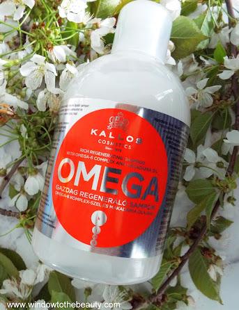 Kallos Rich Regenerating Shampoo with Omega-6 Complex & Macadamia Oil
