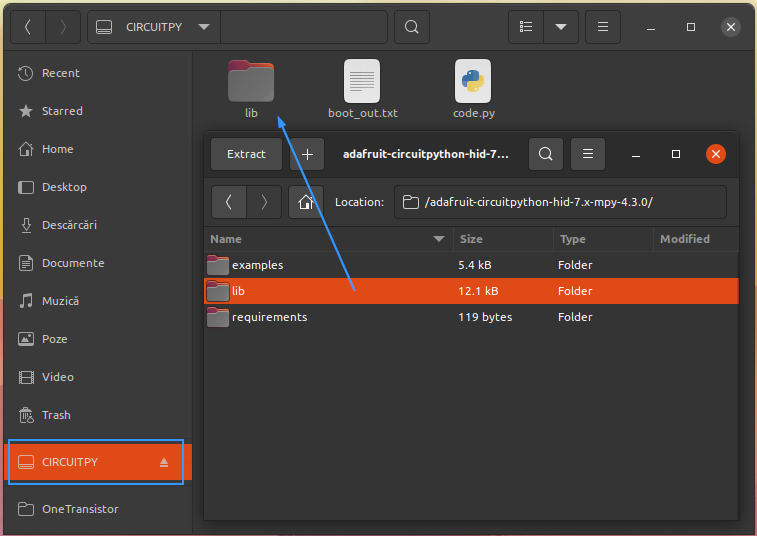 Install Adafruit library to Raspberry Pi Pico