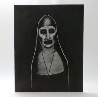 Demon Nun Valek Portrait Replica from The Conjuring 2