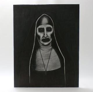 Demon Nun Valek Portrait Replica from The Conjuring 2