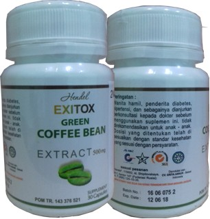 exitox green coffee,manfaat exitox green coffee bean exitox asli,khasiat green coffee exitox,testimoni exitox green coffee,harga exitox green coffee,green coffee,exitox greenco