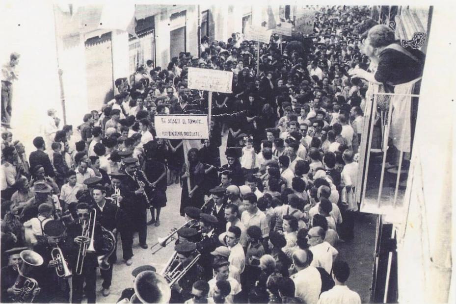 History of La Tomatina