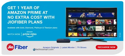Jio Fiber Giving Free One-Year Amazon Prime Subscription For Its Users: Check Everything Here