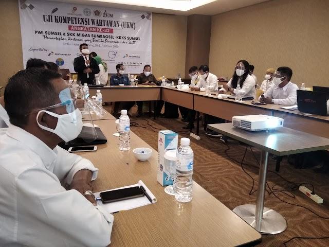 18 Wartawan Jalani UKW Di Palembang
