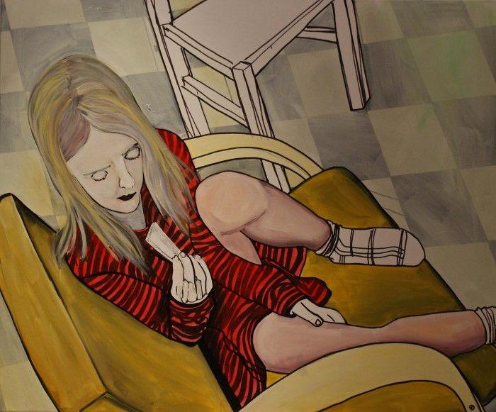 Нидерландский художник. Anja Kok