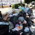 Ασφυξία από τα σκουπίδια και τον καύσωνα - Συλλαλητήριο της ΠΟΕ - ΟΤΑ - ΦΩΤΟ