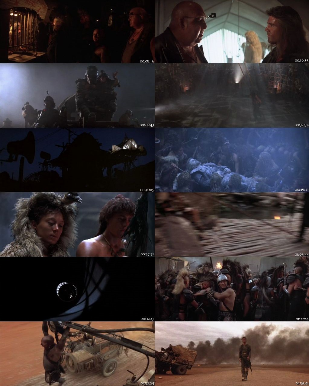 Mad Max Beyond Thunderdome 1985 BRRip 720p [Hindi-English]