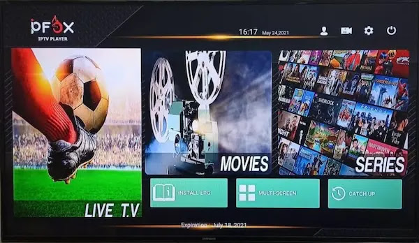 IPFOX IPTV