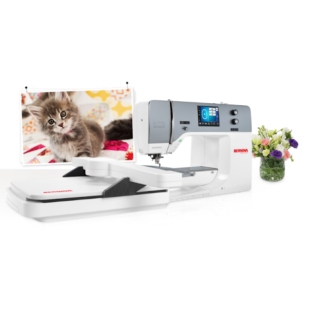 Bernina 770QE | 2019 Holiday Gift Guide for Quilters | Shannon Fraser Designs #holidaygiftguide #sewingmachine #bernina #quilters