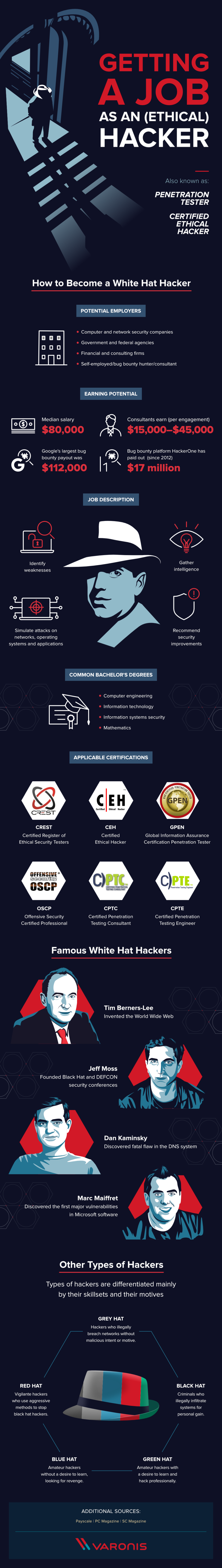 What does an ethical hacker take to be? #infographic