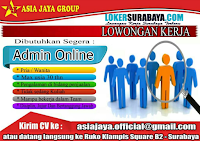 Lowongan Kerja Surabaya Terbaru di Asia Jaya Group Terbaru November 2019