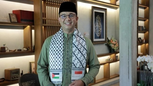 Anies Baswedan Apresiasi Jokowi yang Bela Palestina