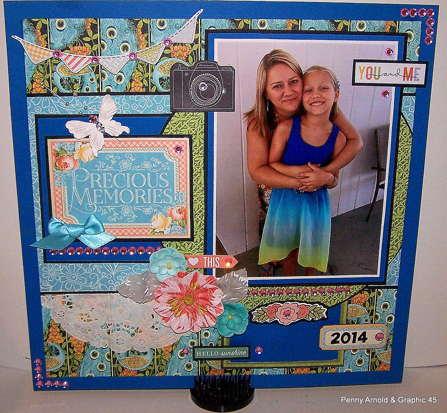 title>How to Make a Step By Step Mother and Daughter Layout