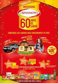 Promoção Aniversário Ajinomoto 2016 - 60 anos de Sabor