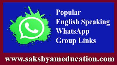 Popular English Speaking WhatsApp Group Links