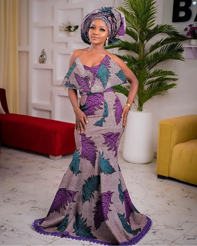 Latest Owambe Styles in 2020 For Ladies : Most Viewed Owambe Styles
