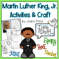 https://www.teacherspayteachers.com/Product/Martin-Luther-King-Activities-and-Craft-2300443ho