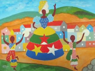 Imagem: quadro pintado por Nelson Sargento
