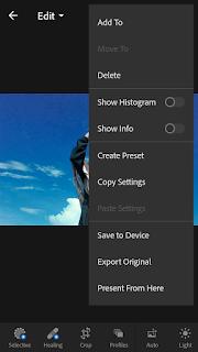 Cara Mengubah Warna Langit di Lightroom Android