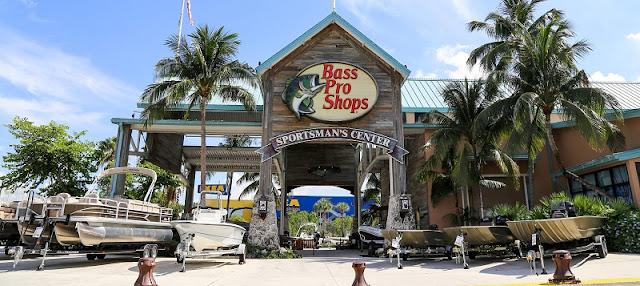 Loja de esportes Bass Pro Shops Miami