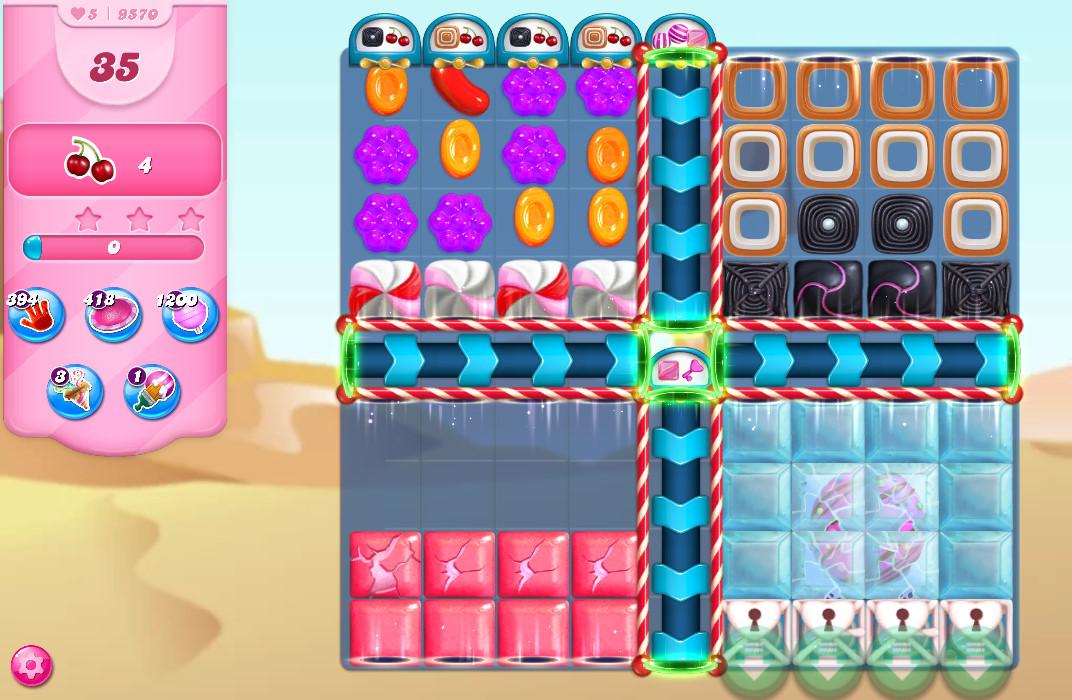 Candy Crush Saga level 9570