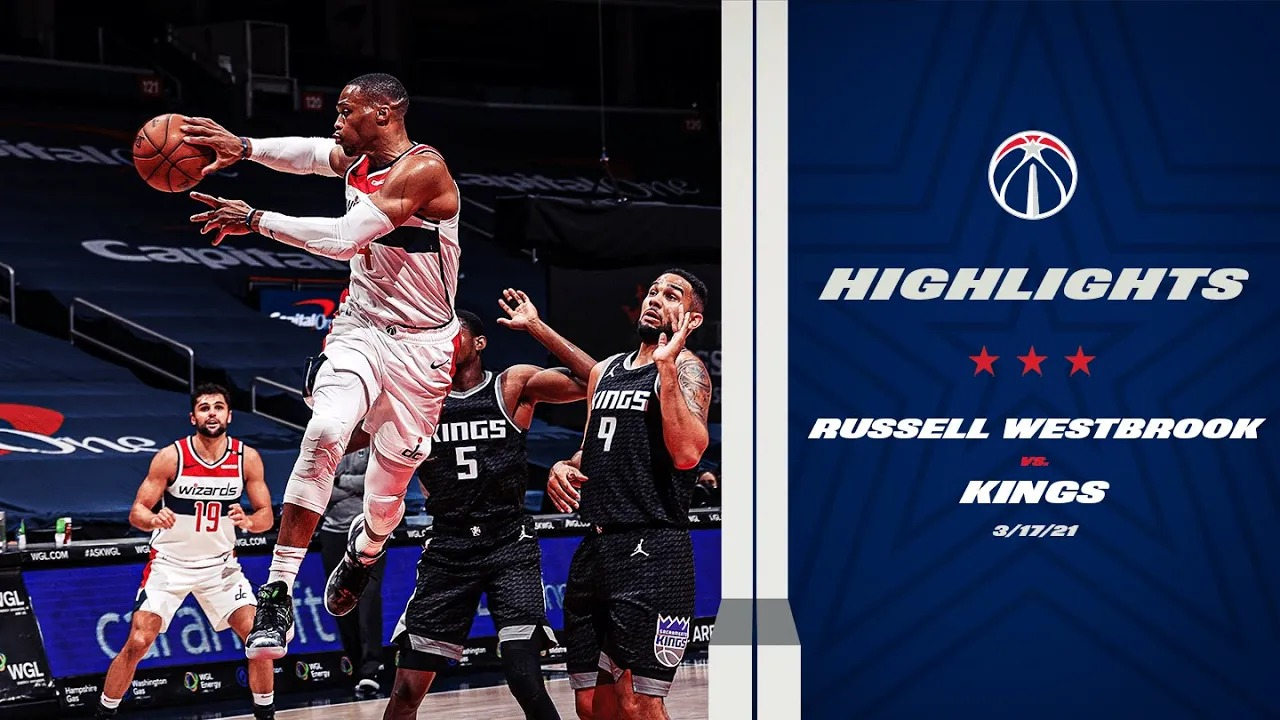 Russell Westbrook 26pts 14reb 10ast vs SAC | March 17, 2021 | 2020-21 NBA Season