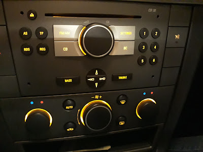 Vectra C climate control