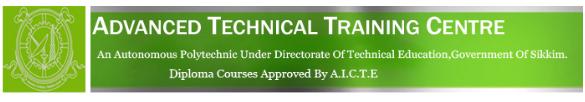 ATTC,Sikkim Recruitment 2020-19 Apply www.attc.skmpoly.edu.in