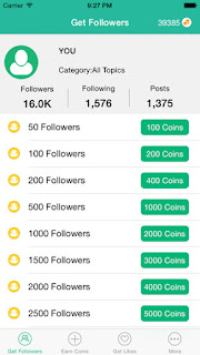Get followers coin hack | Instagram followers hack  2019-03-02