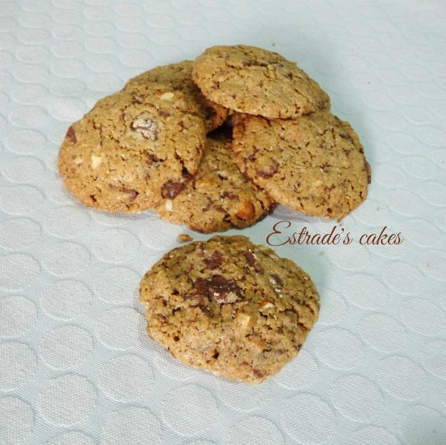 Receta de cookies integrales 3