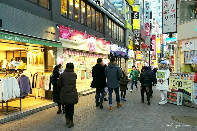Myeong-dong Seoul