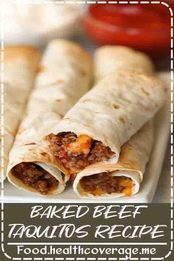 Baked Beef Taquitos are the perfect baked meal. No Frying these delicious taquitos. They are so easy to make, and kids love them. Beef taquitos can easily double as a main dish or an appetizer.