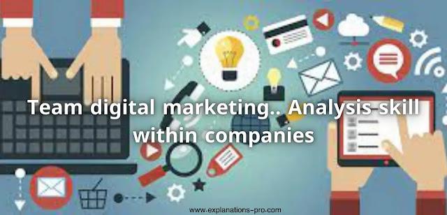 Analysis skill within companies