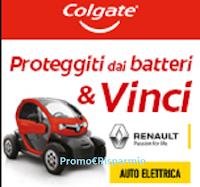 Logo Concorso ''Colgate Total 2020'' : vinci 1 city car elettrica Twizy Life 45