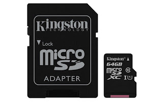 kingston micro sd 64gb calass 10