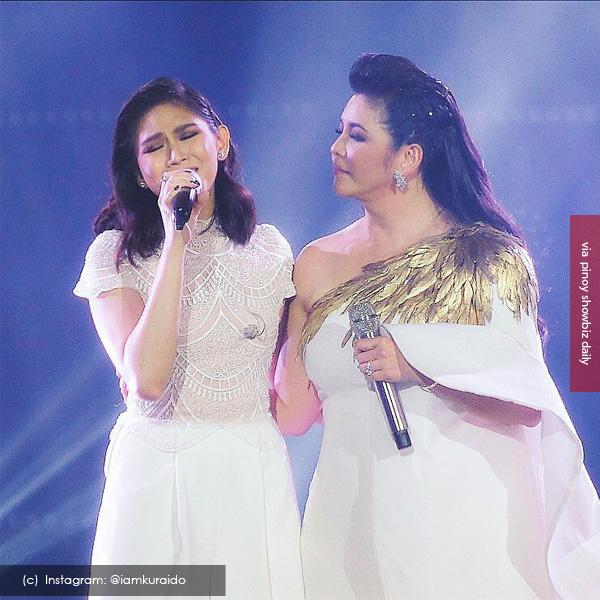 Sarah Geronimo and Regine Velasquez Sana Maulit Muli duet