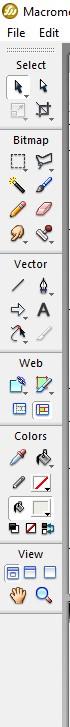 Tools Menu - image editor