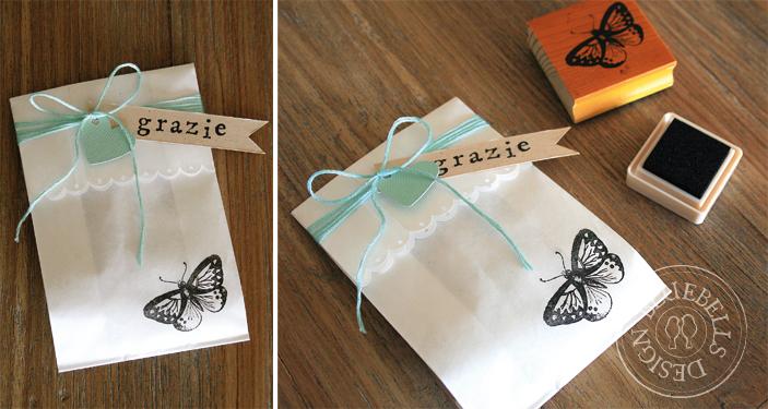Super Bluebells Design: Confetti e farfalle NF84