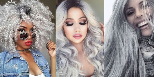 Awesome Silver Hair!