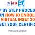 Step by Step Procedure on How to Enroll in Virtual INSET 2021 and claim your certificates