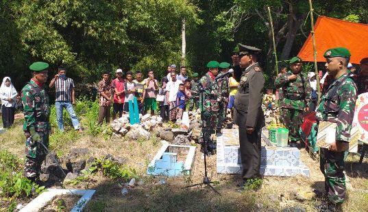 Jenazah Machmuddin, Dimakamkan Secara Dinas Militer