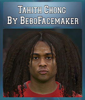 PES 2017 Faces Tahith Chong by Bebo