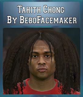 PES 2017 Faces Tahith Chong by Bebo