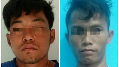 Terekam CCTV, 2 Pencuri Kotak Infaq Mesjid di Tebingtinggi Ditangkap Polisi