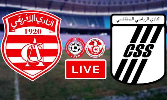 Match Club Africain VS CS Sfaxien Live Stream